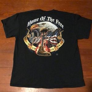 Military graphic T-shirt Sz Xlarge